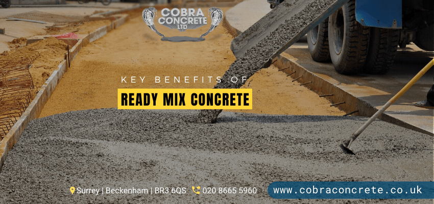 5 Significant Advantages of Buying Ready-Mix Concrete