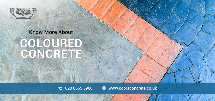 Know More About Coloured Concrete