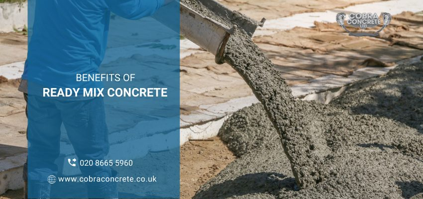 How Ready Mix Concrete Can Help You in Saving Time
